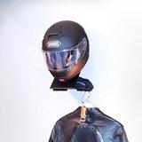 Helmhouder voor motorhelm_