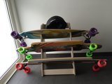 Board Racks - Longboard rack - staand_