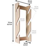 Board Racks - Longboard wandrek - opbergsysteem - B-keus_