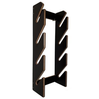 BoardRacks - skateboard wandrek - ophangsysteem - black edition - B-keus