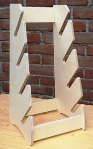 BoardRacks - Skateboard rack - staand - B-Keus